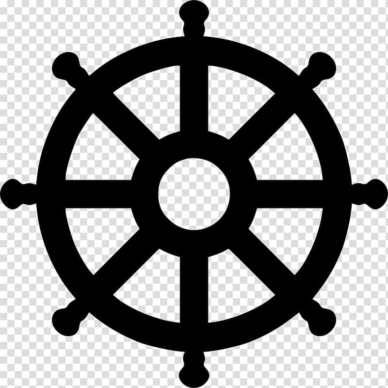 Computer Icons Dharmachakra , Wheel of Dharma transparent.