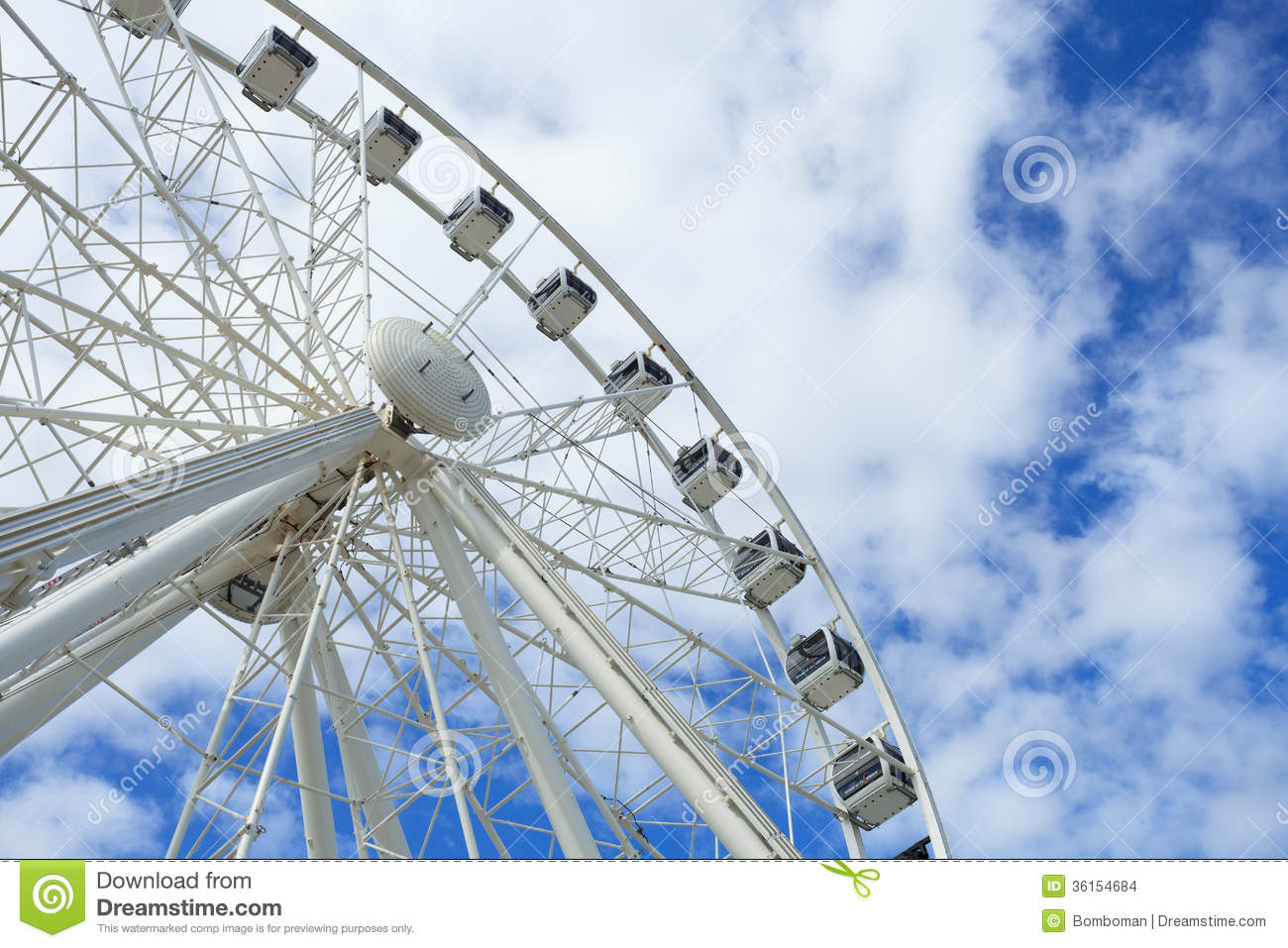 Cape Wheel Of Excellence Beautiful Large White Ferris Wheel.