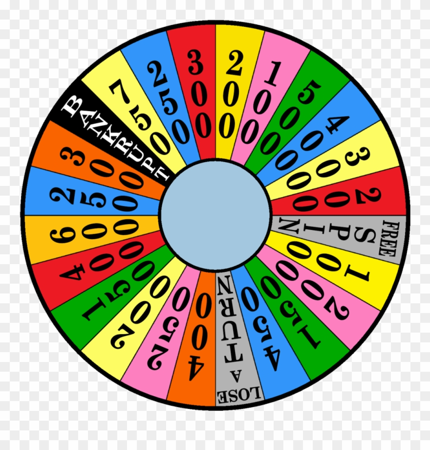 Clip Art Wheel Of Fortune.