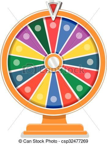 Wheel of fortune clipart 4 » Clipart Portal.