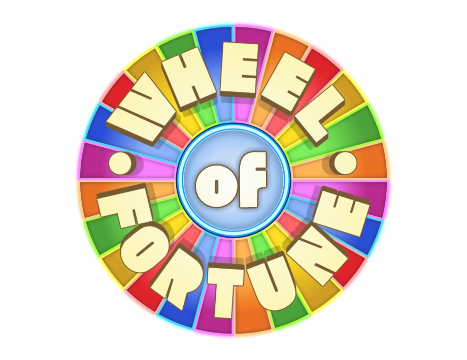 Wheel Of Fortune Logo Png.