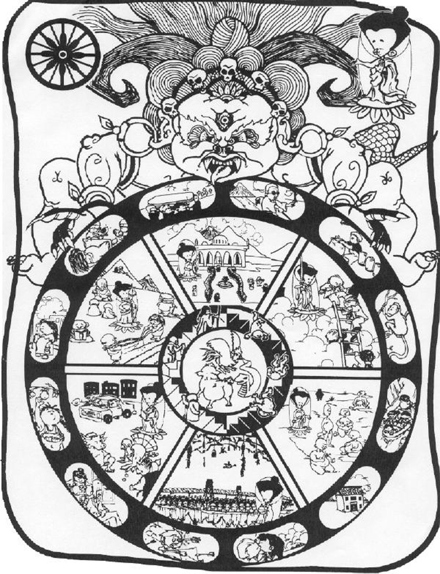 Wheel of Life PICTURES, PICS, IMAGES AND PHOTOS FOR YOUR TATTOO.