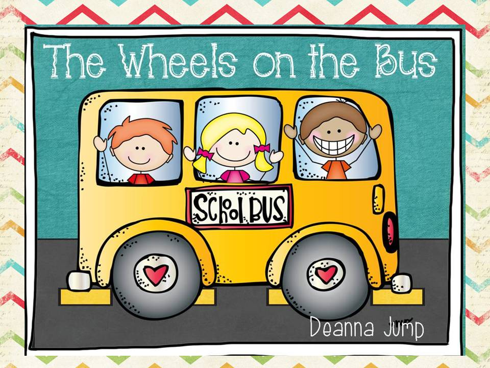 Wheels On The Bus Clipart.