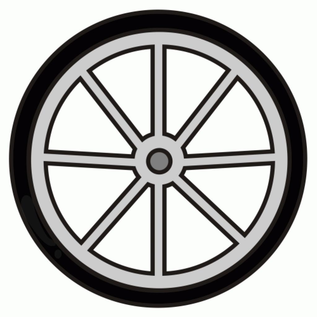 Wheel rims clipart #20