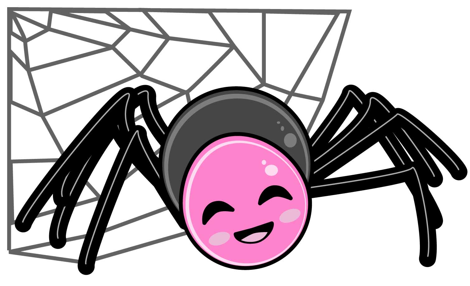 Showing post & media for Cartoon spider clip art.