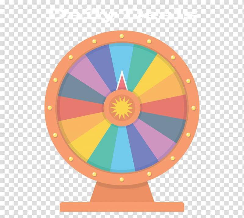 Wheel of Fortune Rota Fortunae Illustration, spin the wheel.