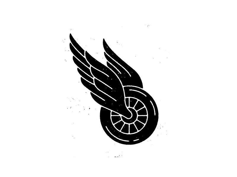 Winged Wheel.