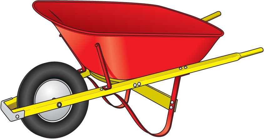 Wheelbarrow Clipart.