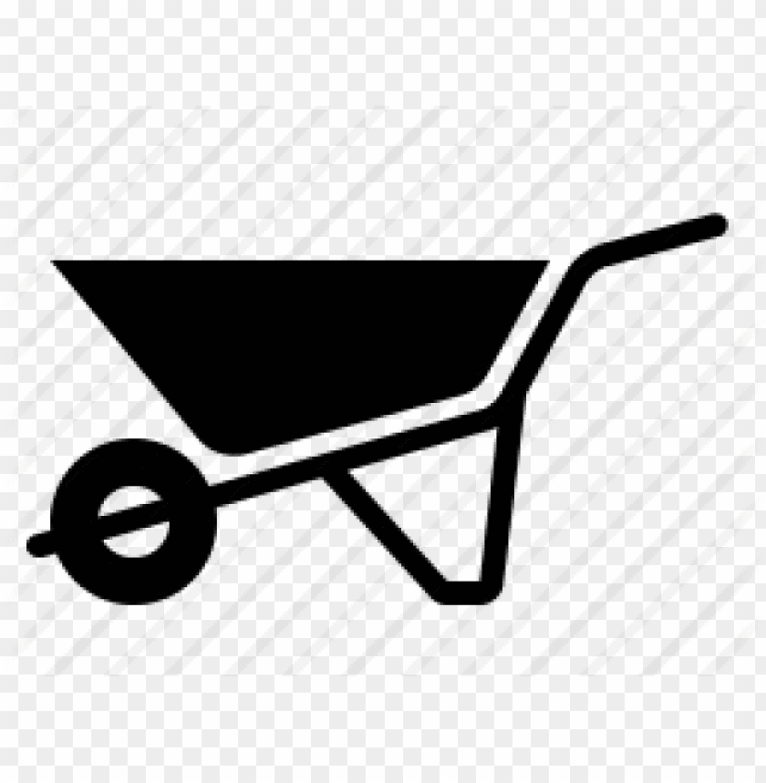tool clipart wheelbarrow.