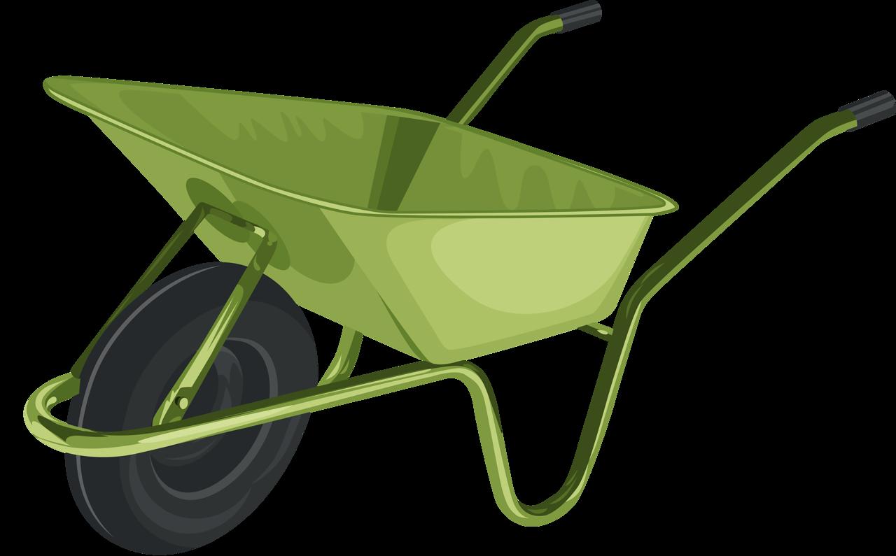 Garden clipart wheelbarrow, Garden wheelbarrow Transparent.