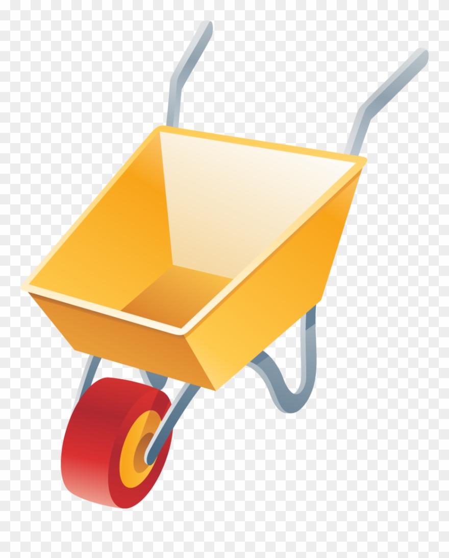 Image For >, Wheelbarrow Clipart.