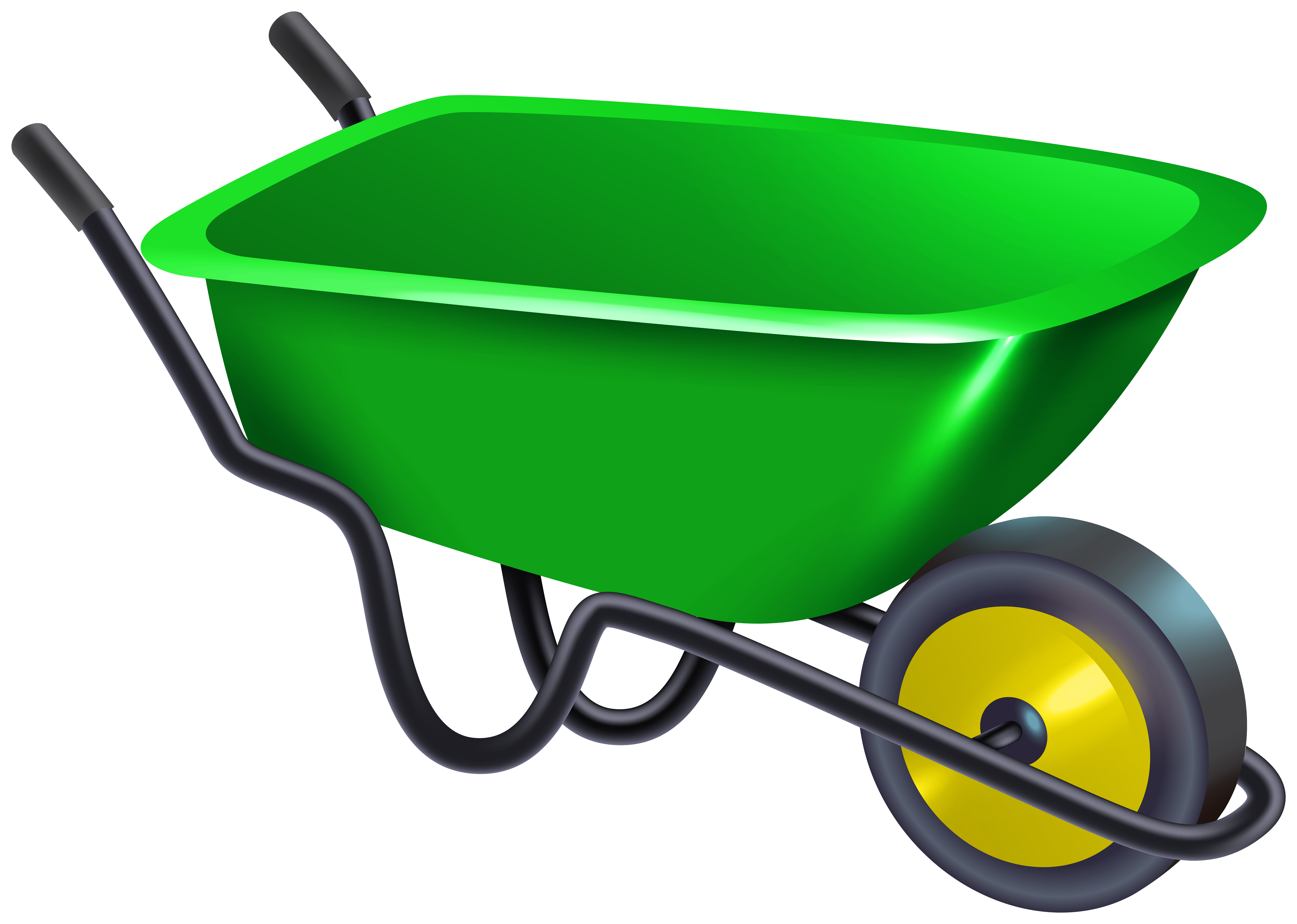 Wheelbarrow PNG Clipart.