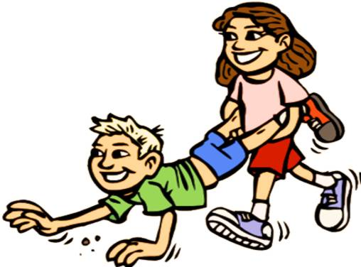 Wheelbarrow Race Clipart.