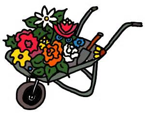 Free Garden Clipart Flower Wheelbarrow 1, Free Garden Free Clipart.