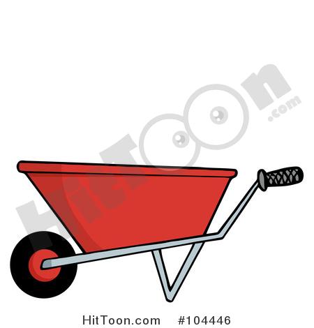 Wheelbarrows Clipart #1.