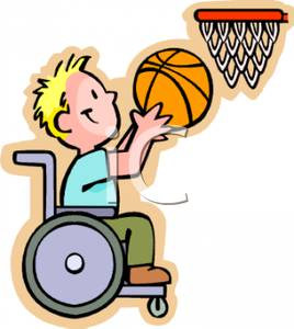 1183 Wheelchair free clipart.
