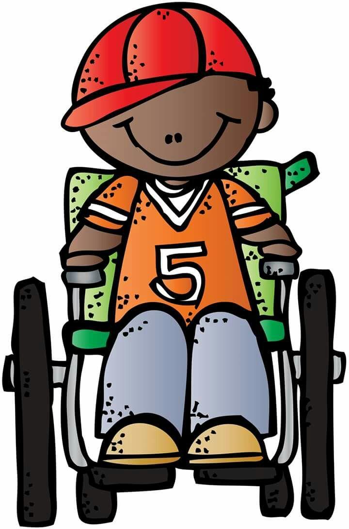 Boy in wheelchair Melonheadz.