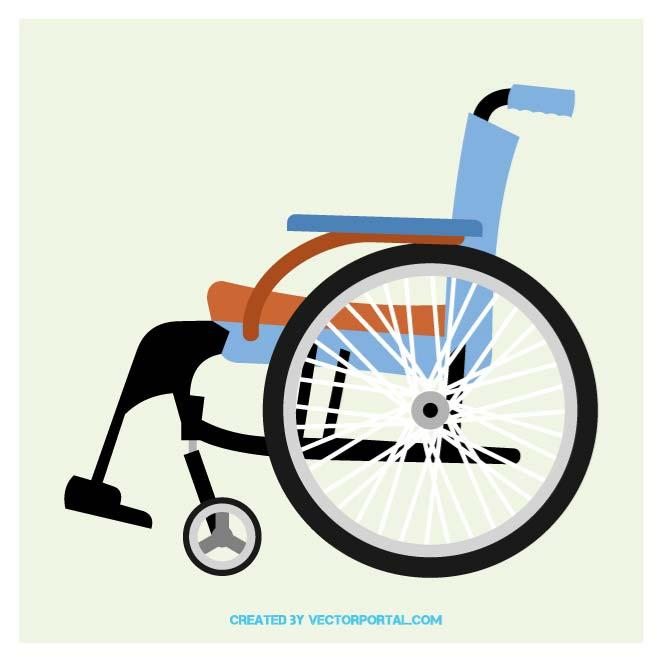 WHEELCHAIR CLIP ART.