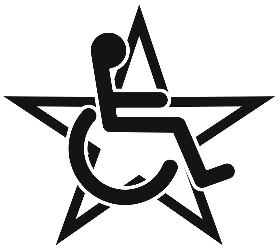 Wheelchair Clipart Vector.