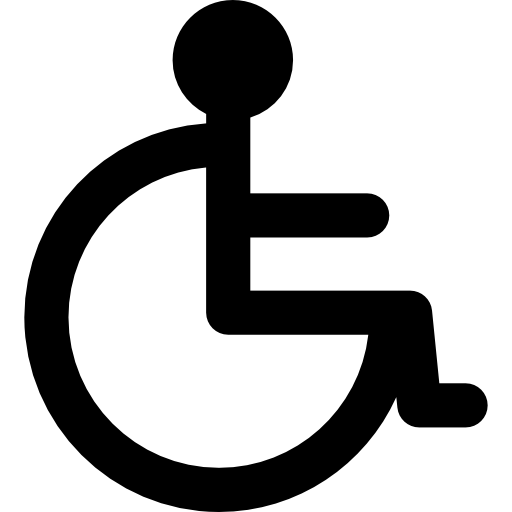 Wheelchair symbol Icons.
