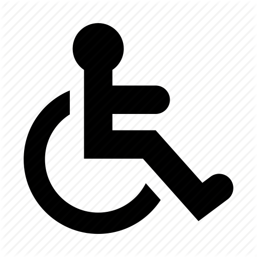 Wheelchair Icon Png #341800.