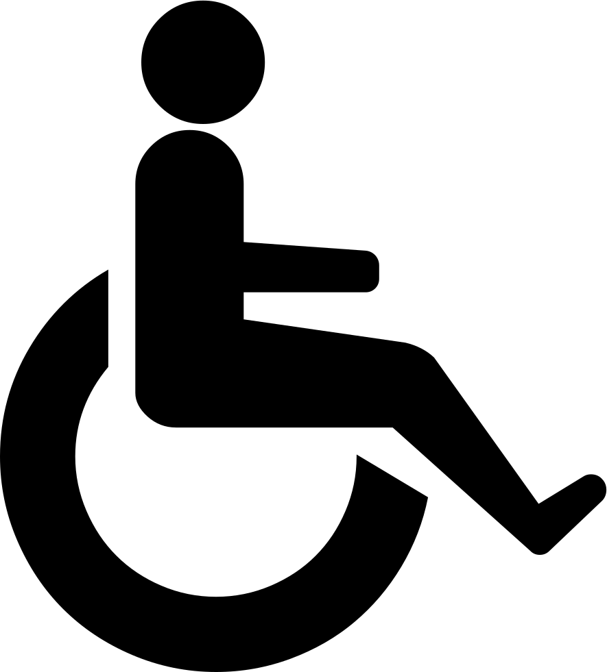 Person Wheelchair Svg Png Icon Free Download (#425990.