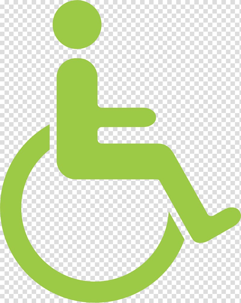 Logo Wheelchair , Wheelchair logo transparent background PNG clipart.