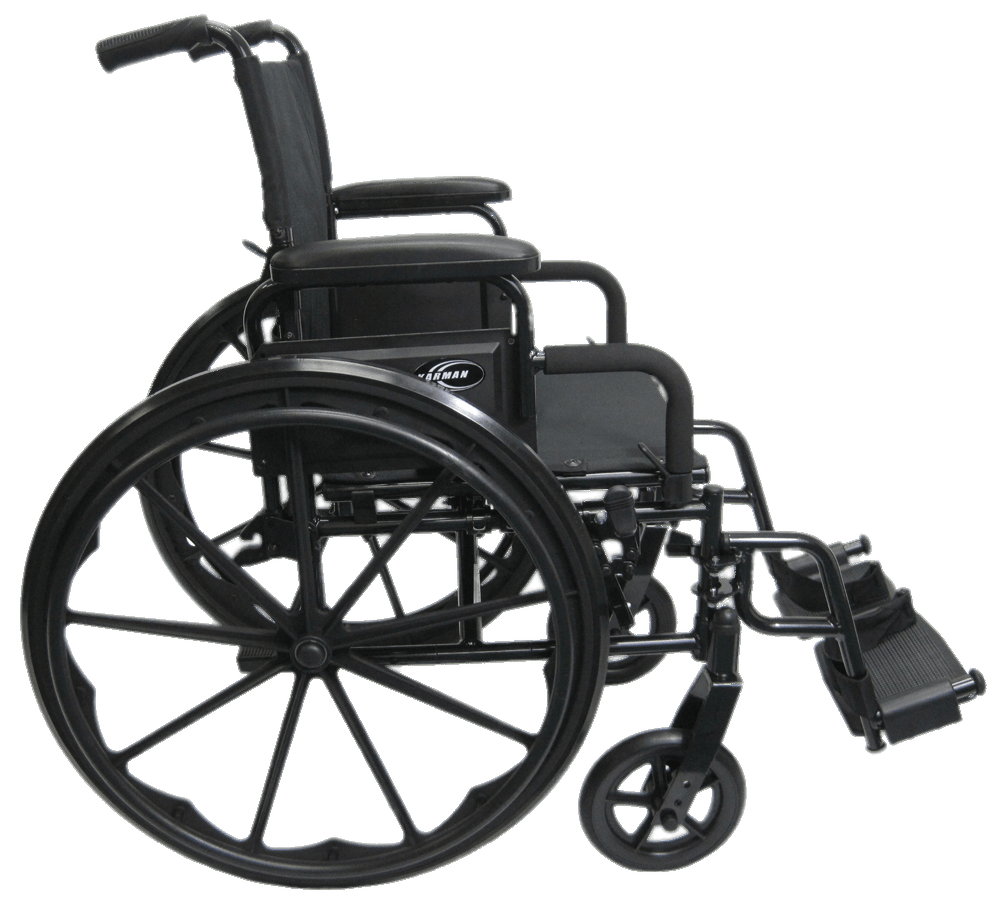Wheelchair Side View transparent PNG.