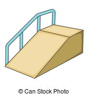 Wheelchair Ramp Clipart.