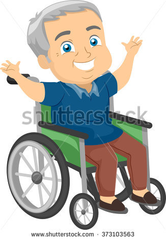 Man In Wheelchair Stock Images, Royalty.