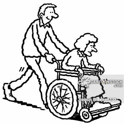 Wheelchair Bound Cartoons and Comics.