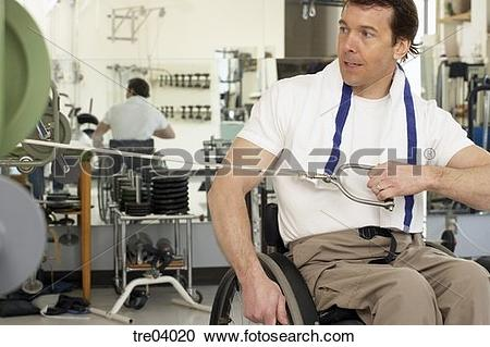 Stock Photography of Wheelchair.