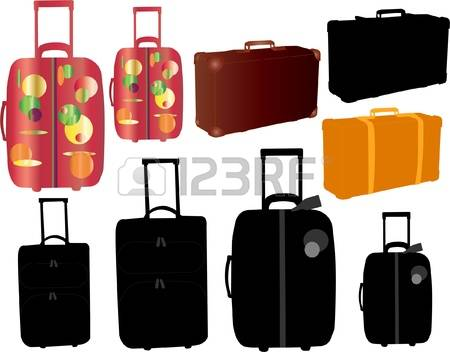 1,467 Suitcase On Wheels Stock Illustrations, Cliparts And Royalty.