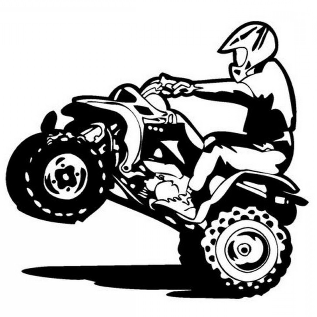 Delighted Four Wheeler Coloring Pages Pictures Inspiration Entry.