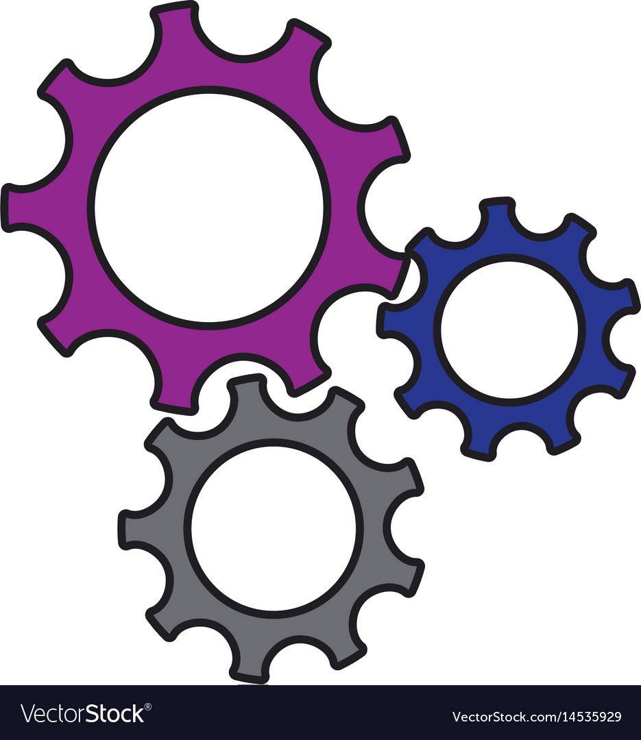 Gears wheel cogs teamwork idea collaboration.