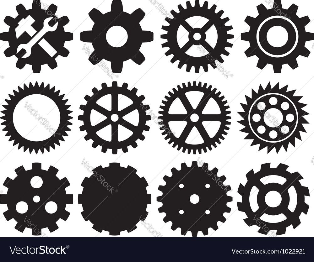 Pin about Gear wheels, Gear template and Steampunk patterns.