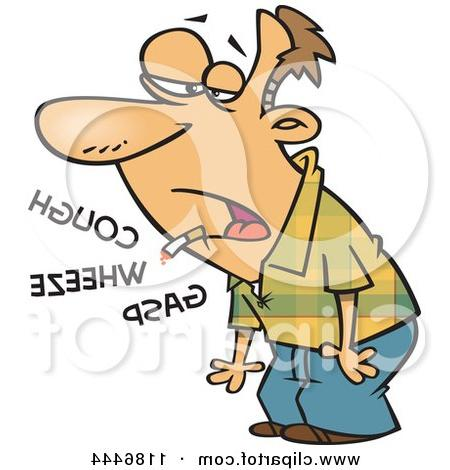 wheezing clipart #7