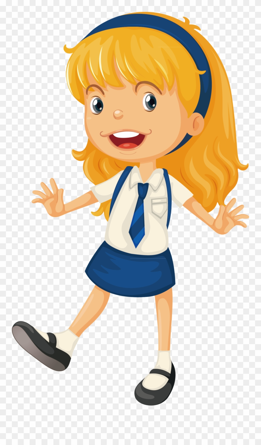 Animation Schools, School Uniform Girls, Starting School.