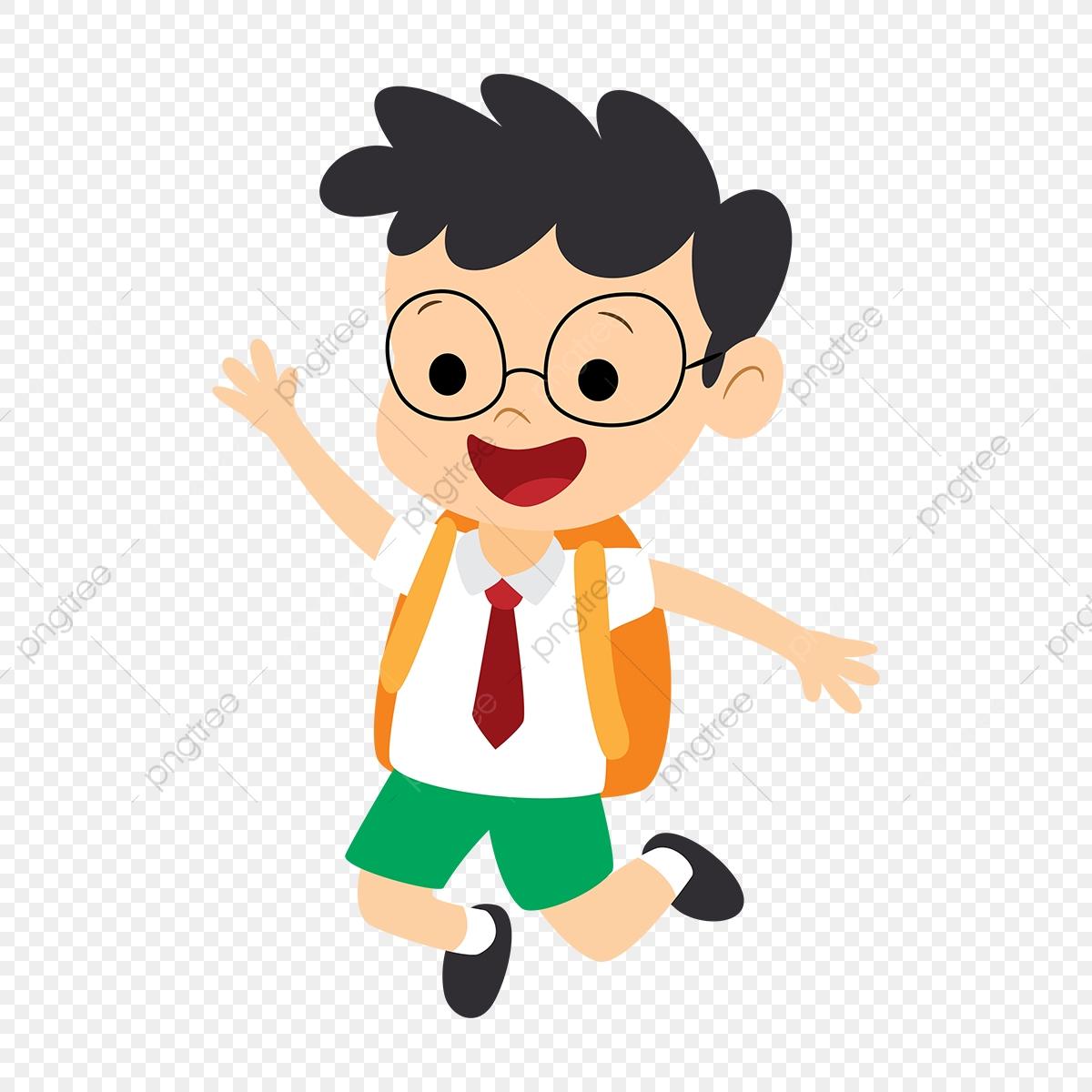 Cartoon Childrens Backpacks For The Start Of The School Season.