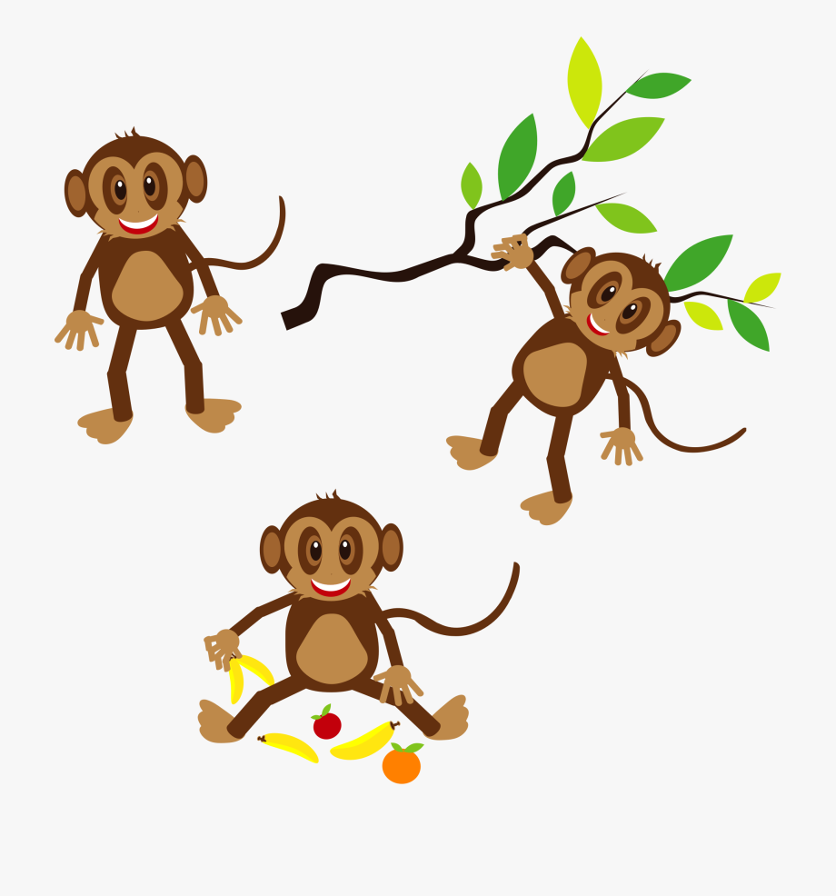 Monkeys Clipart.