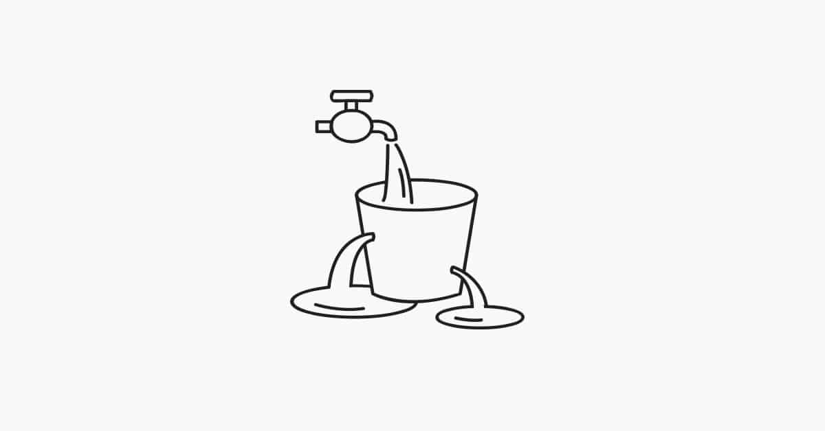 Your Bucket is Leaking: Why Most People Failed to See in the.