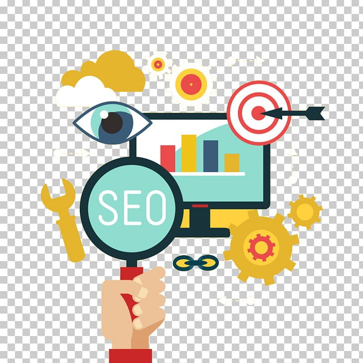 Search Engine Optimization Digital Marketing SEO Company Graphics.