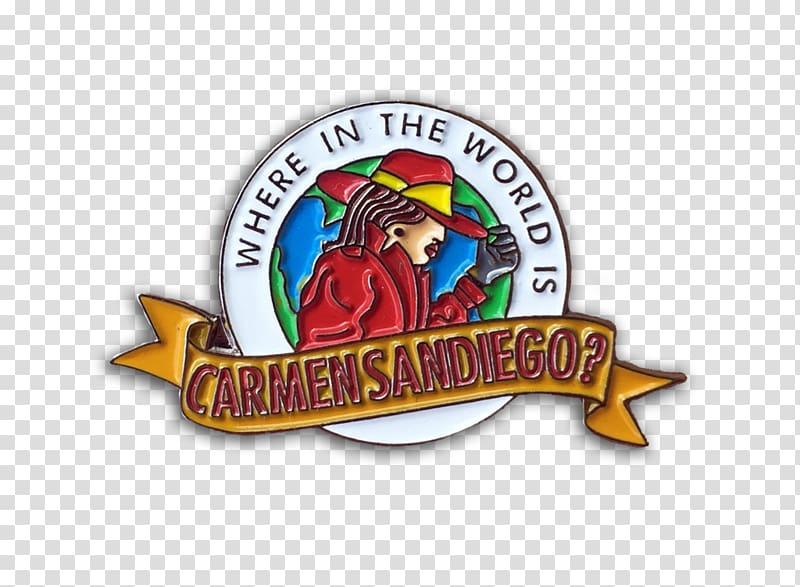Where in the World Is Carmen Sandiego? Logo Rockapella Carl.