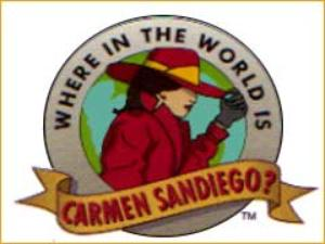 Where in the World is Carmen Sandiego? (TV Show).