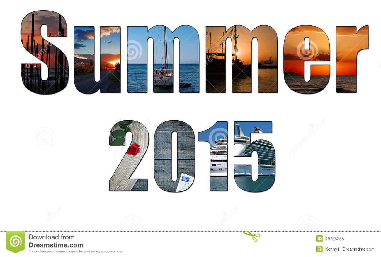 Clip Art Summer 2015.