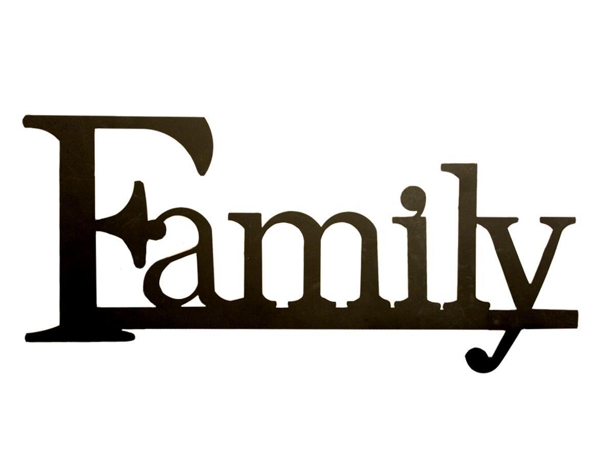 Family Word Clip Art The Family Photo.