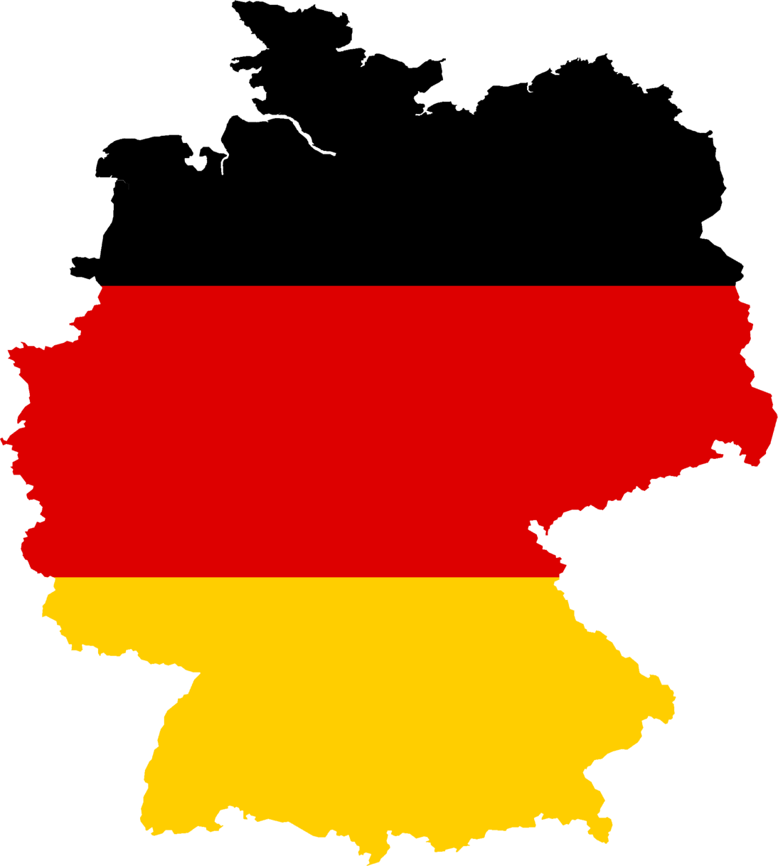 Germany Is Located In Central Europe, Bordering The.
