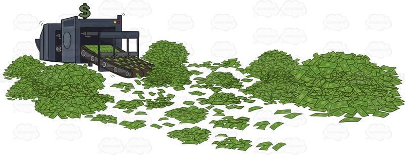 Money Printing Press.