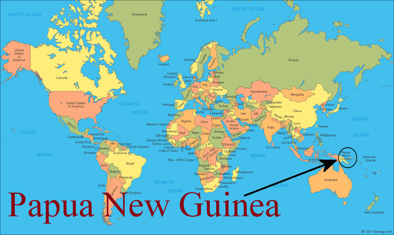 Where in the World Is PNG?.