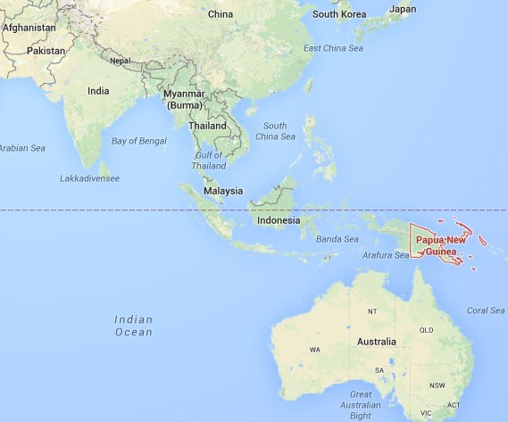 Where in the world is Papua New Guinea?.